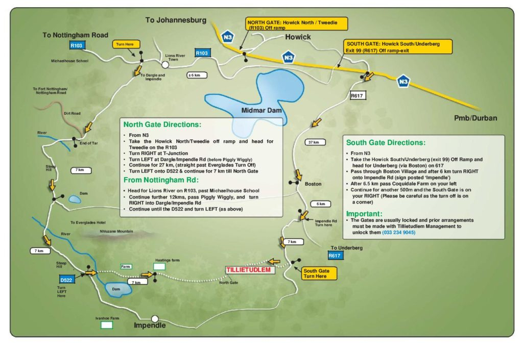Midlands meander map